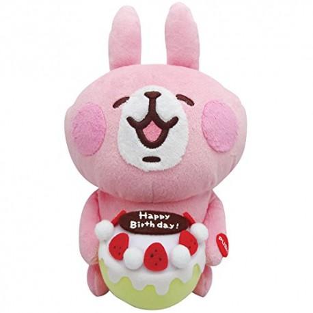 kanahei小動物 LINE 粉紅兔兔 發聲 生日公仔