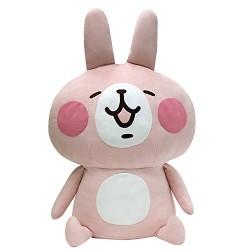 kanahei小動物 LINE 粉紅兔兔 60cm高 毛公仔