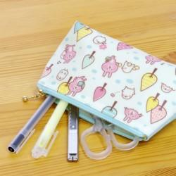 kanahei小動物 LINE 粉紅兔兔 筆袋